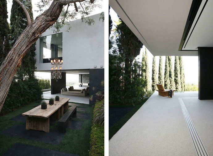 Minimalist architecture house: Open House by XTEN Architecture