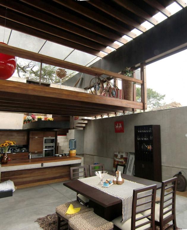 Algarrobos House by Jose Maria Saez and Daniel Moreno Flores