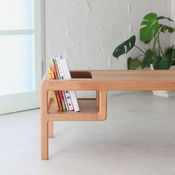 Baby in Table - A Table with Built-in Baby Seat by Toa Ringyo