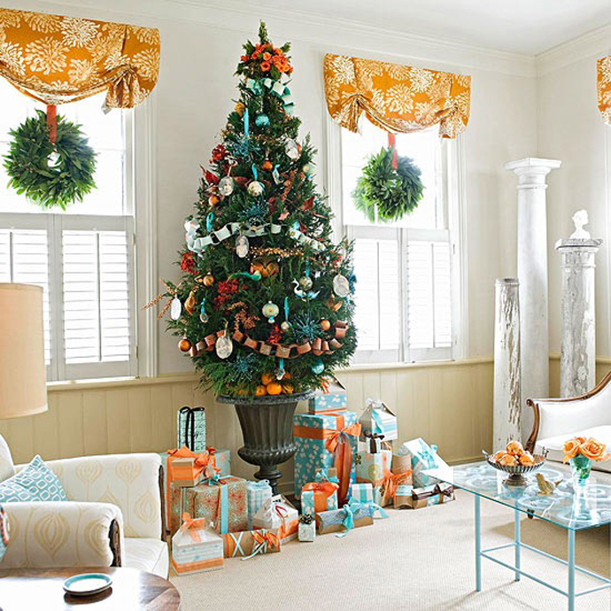 Home Design Ideas For Christmas: Beautiful Christmas Tree Decorating Ideas