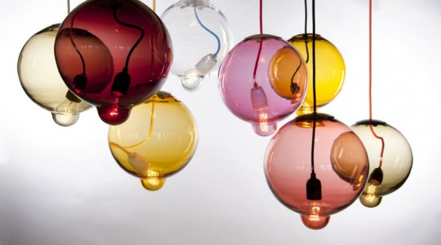 Meltdown Lamps by Johan Lindstén for Cappellini