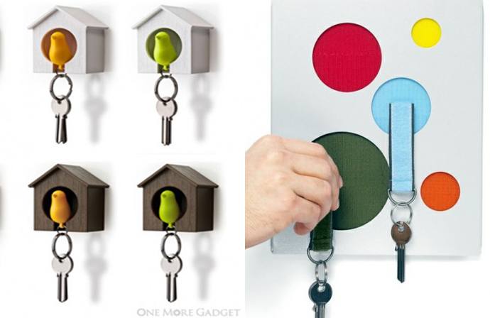 10 Practical And Funny Key Holders