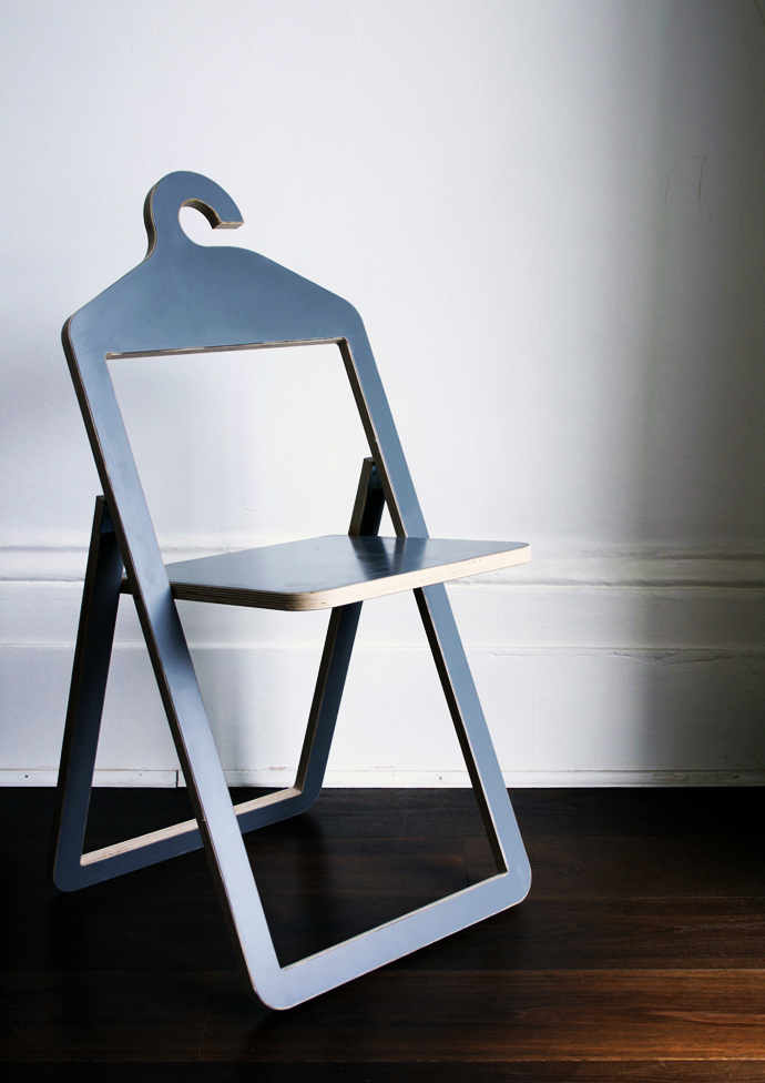 Gorgeous Hybrid Furniture: The Hanger Chair by Philippe Malouin
