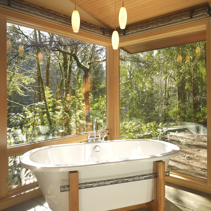 20 Transparent Bathrooms That Cure Your Shyness