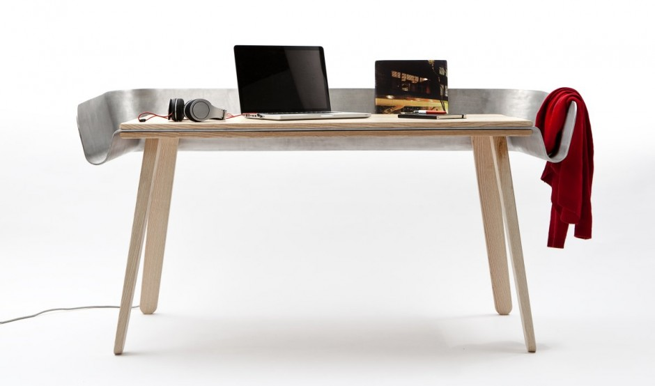 'Homework' Work Table by Tomas Kral for super ette