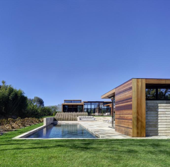Amazing Transparent House by Bates Masi Architects