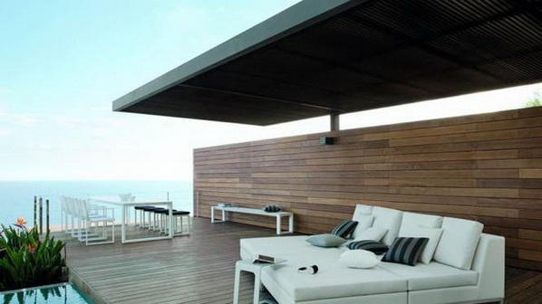 Miraculous Outstanding Ideas For Covered Terraces Largest Home Design Picture Inspirations Pitcheantrous