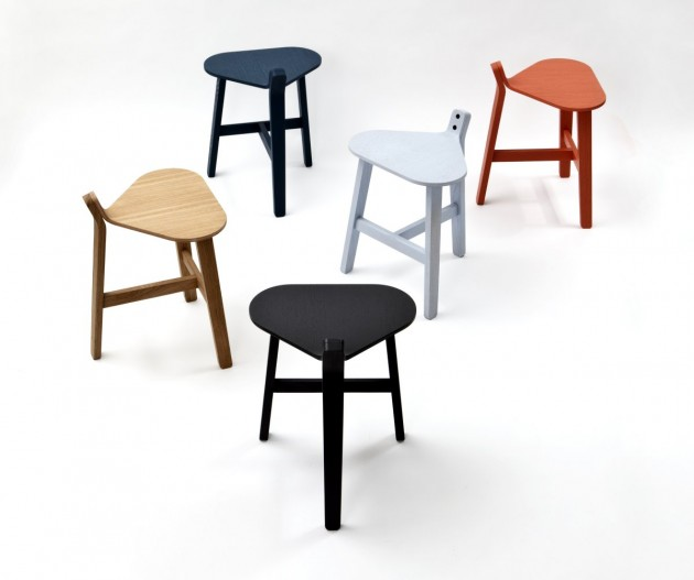 Bronco Stool by Guillaume Delvigne for super ette