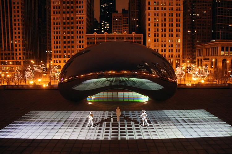 Cloud Gate in Millennium Park, Chicago