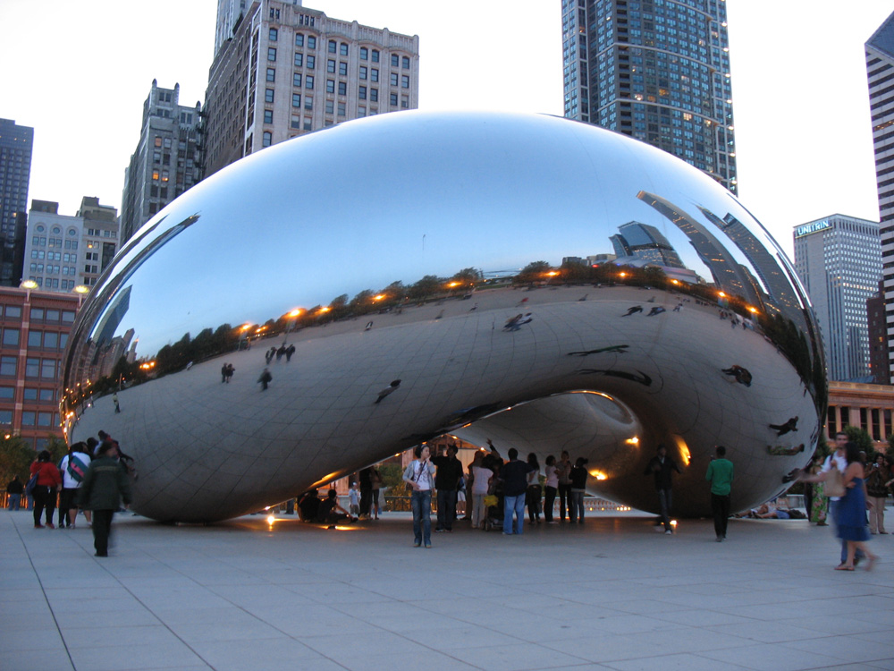 Cloud Gate in Millennium Park, Chicago