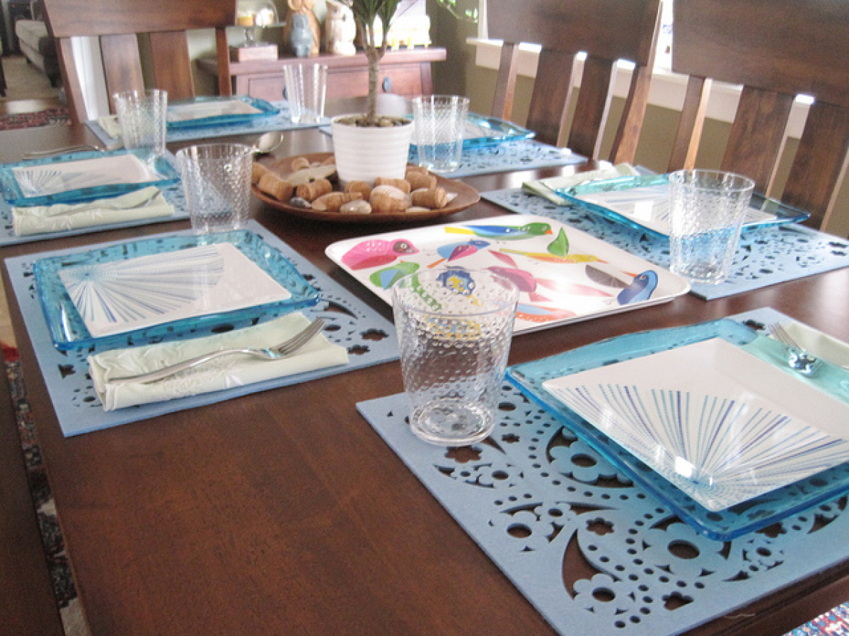 13 diy table settings ideas that will impress your friends for Table setting design