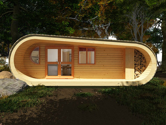 24 eco friendly houses made with natural materials Small eco home plans