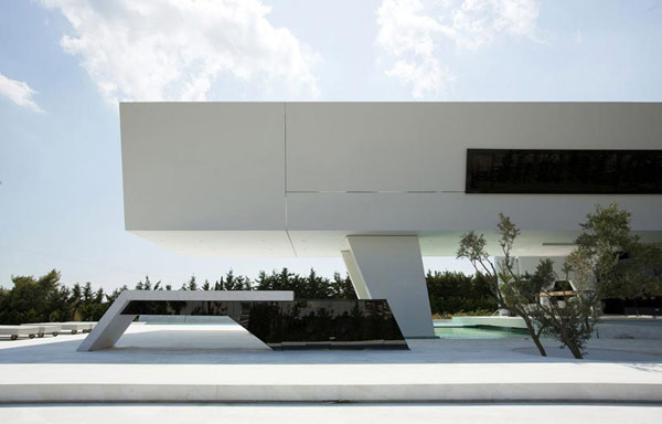 Futuristic Residence in Athens Reflecting The Owner's Passion for Yachts