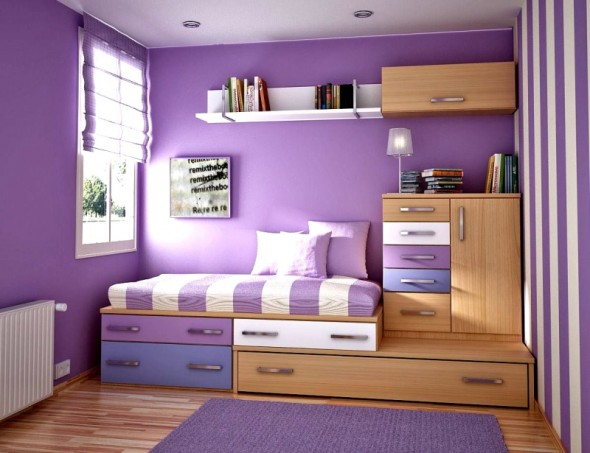 The Most Brilliant And Comfortable Teens Room Ideas For Small Space