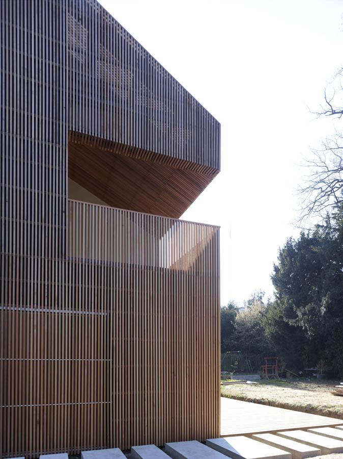 House 2G by Avenier Cornejo Architectes in Orsay, France