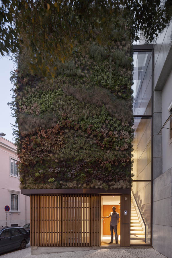 House Patrocinio in Lisbon by Let's SUBVERT