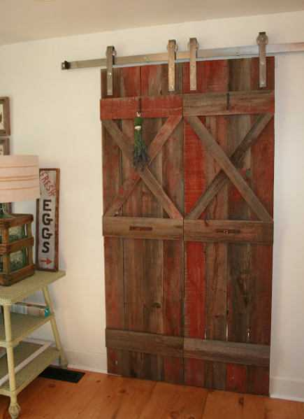 Interior barn doors for Barn door design ideas