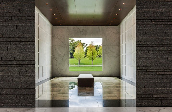 Lakewood cemetery s garden mausoleum by hga architects Mausoleum design
