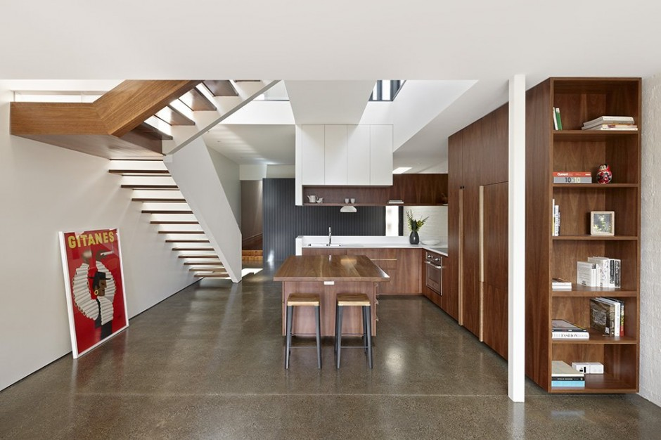 Nth Fitzroy House by AM. Architecture
