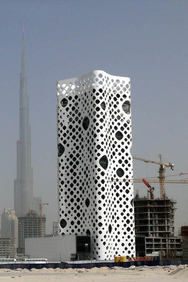 O 14 Tower by Reiser + Umemoto in Dubai, United Arab Emirates