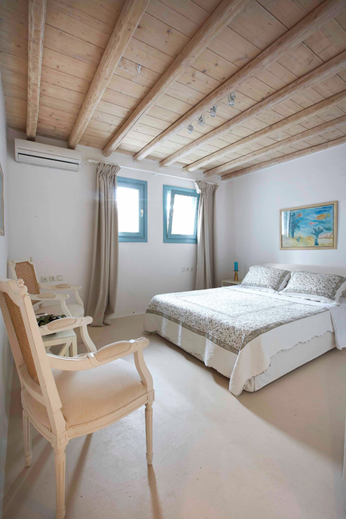 Great Holidays at Mykonos Panormos Villas Overlooking the Blue Sea