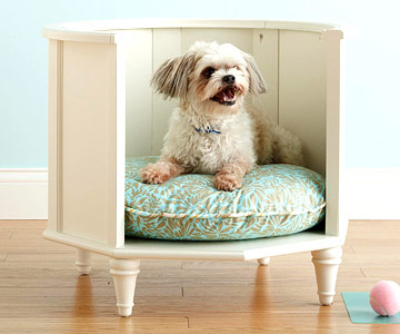 25 DIY Pet Bed Ideas