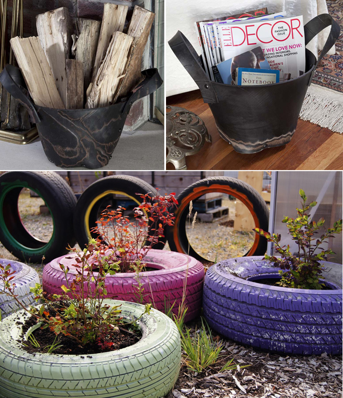 Creative ideas for home decoration from waste materials Things to make out of old tires