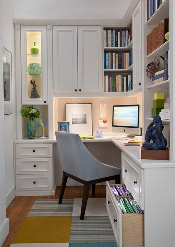 design in home. 20 Home Office Designs for Small Spaces