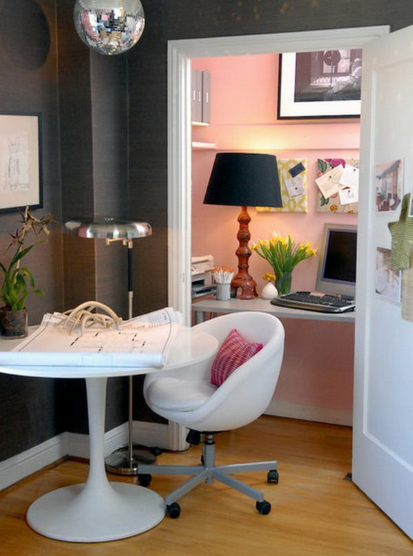 20 home office designs for small spaces - Office Design Ideas For Small Office