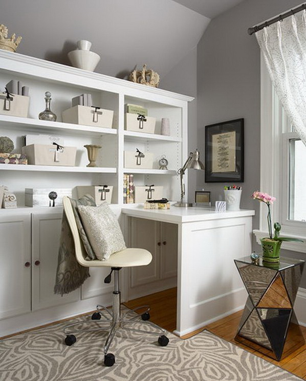 Home Design Ideas For Small Spaces: 20 Home Office Designs For Small Spaces