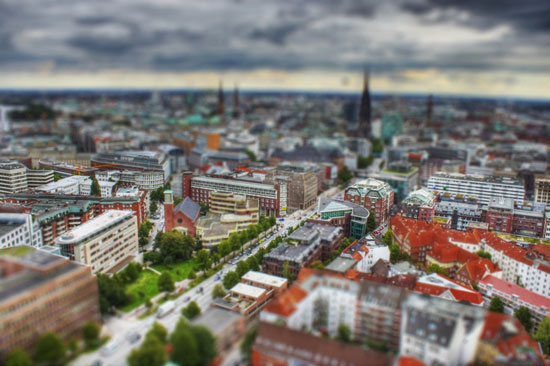 A Beautiful Miniaturized World Captured By Tilt Shift Photography