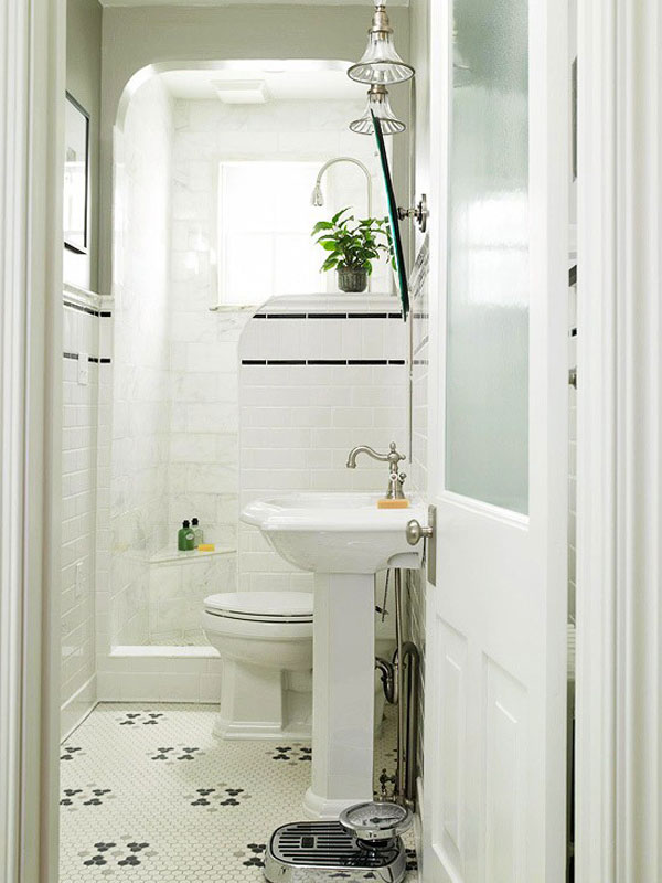 30 Small and Functional Bathroom Design Ideas For Cozy Homes on Ideas For Small Bathrooms  id=27317
