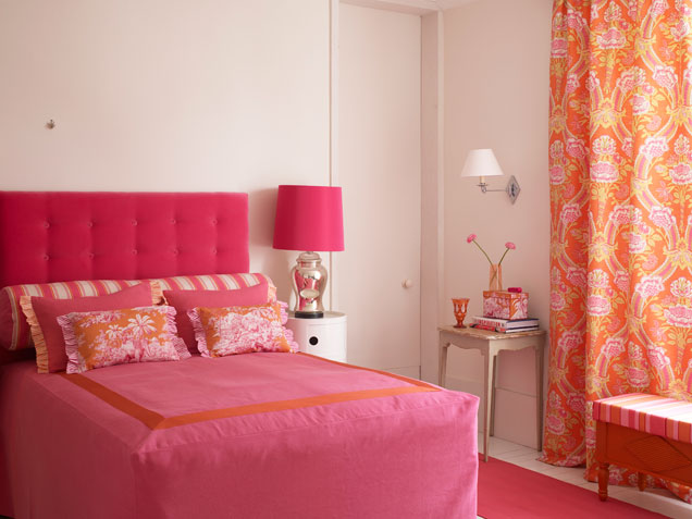 44 beautiful bedroom decorating ideas 19353 | pink and orange bedroom