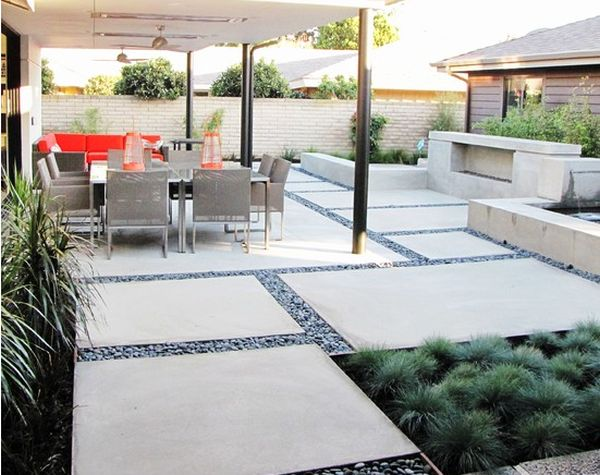 12 diy inspiring patio design ideas Modern backyards