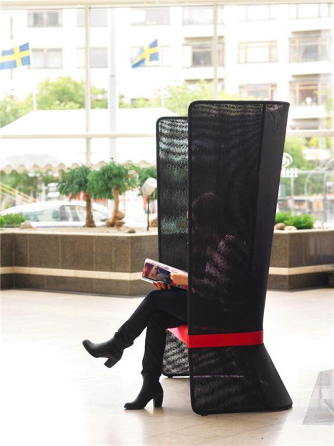 Ways of sitting …in public spaces