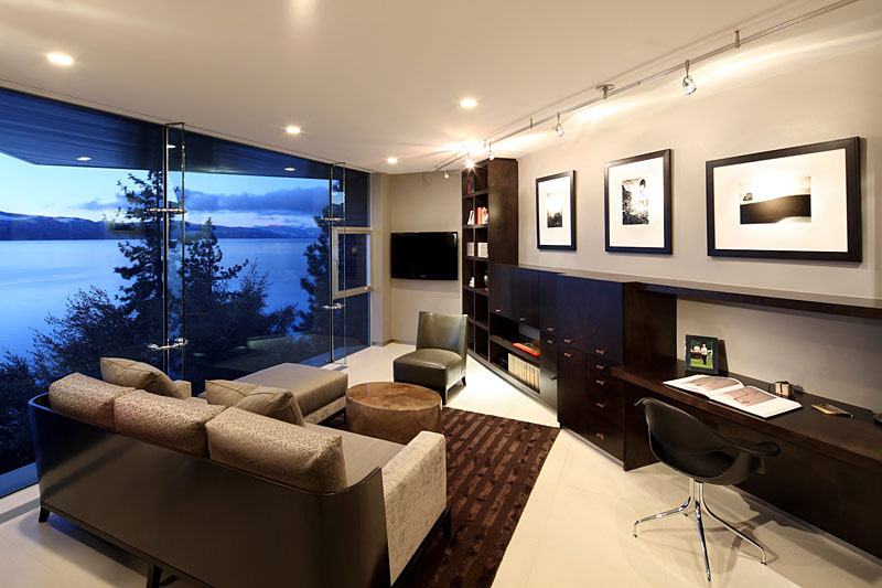 $43 Million Lake House In Lake Tahoe By Mark Dziewulski Architect