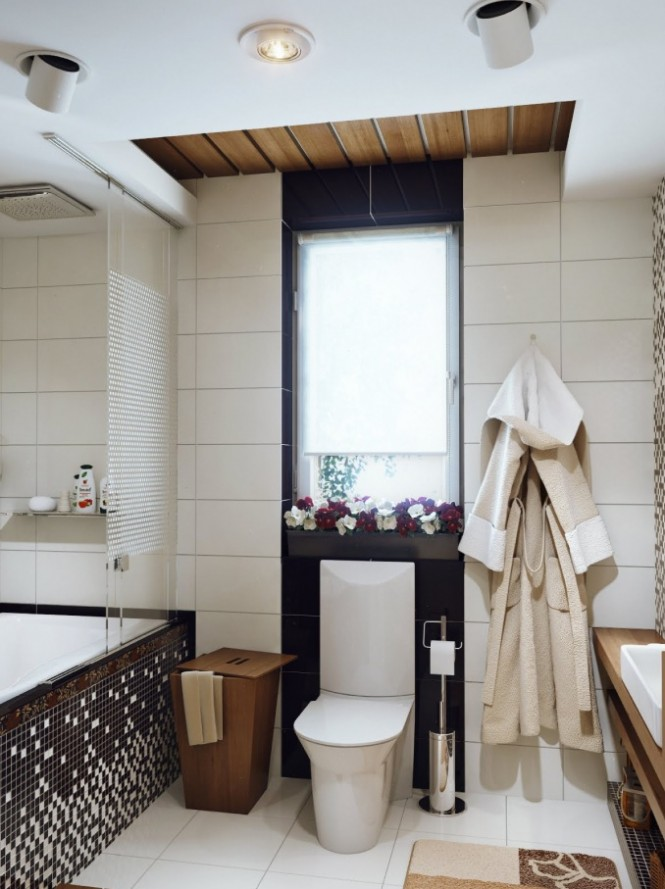 How to decorate small space bathrooms