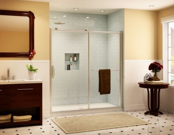 Modern Bathroom: Perfect Sliding Door For Your Shower ...