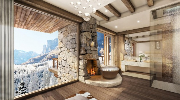 Resort Property In Leukerbad, Switzerland by Marc-Michael Interior Design