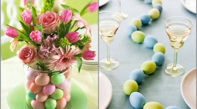 Table Decoration: 7 Great Ideas Of Table Centrepiece for Easter Lunch and Dinner