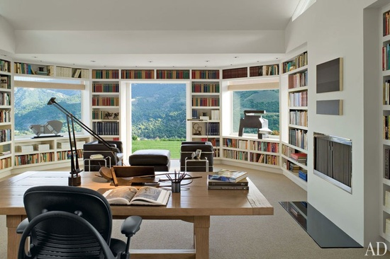 50 super ideas for your home library - Home Design Picture