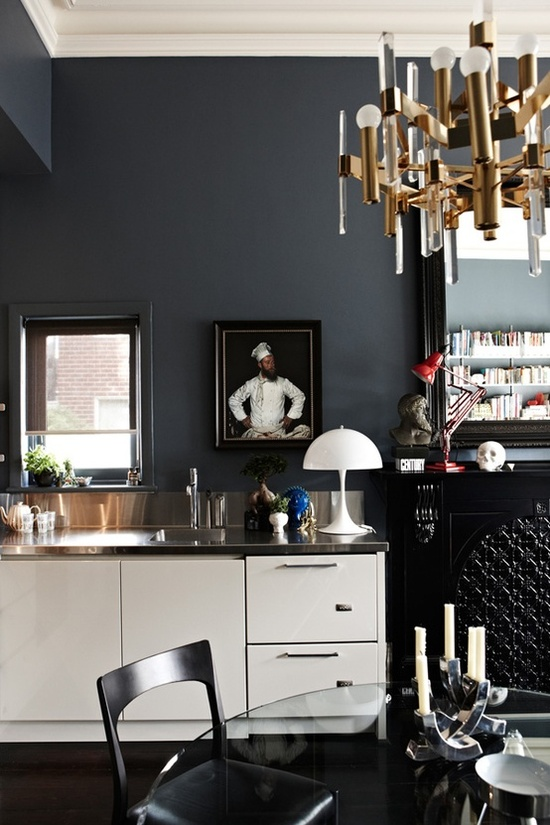 46 Marvelous Designs of Masculine Kitchen