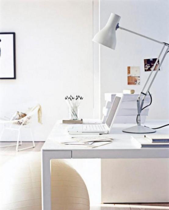 Minimalist home office interior design