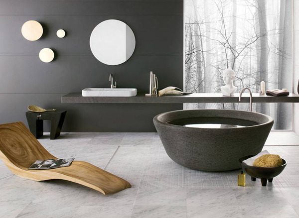Nature as eternal inspiration for Neutras Bathrooms