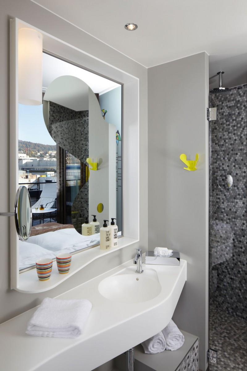 Unique hotel with unique name : 25 hours @ Zurich