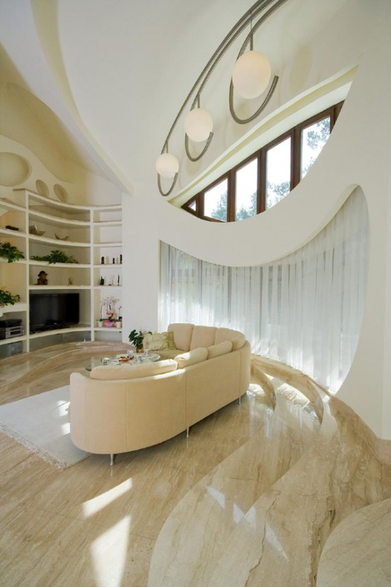 Extraordinary Polish Residence With Odd Architectural Appearance,