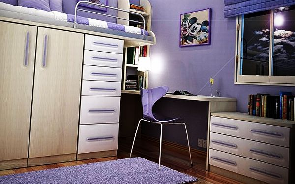 55 Motivational Ideas For Design Of Teenage Girls Rooms