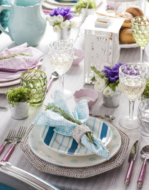 DIY: 53  amazing ideas of spring table decoration