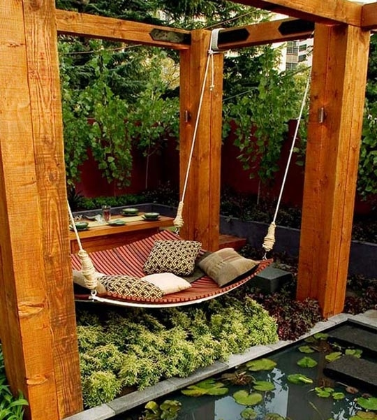 Backyard Hammock Design 30 DIY Ideas How To Make Your Backyard Wonderful This Summer