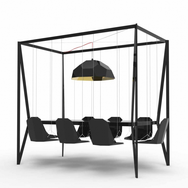 AMAZING DESIGN: FOUR POSTER SWING TABLE